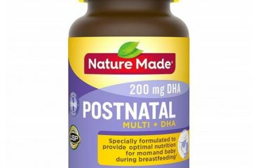 Nature Made 네이처메이드 DHA Postnatal 60정 Support for Breastfeeding Moms